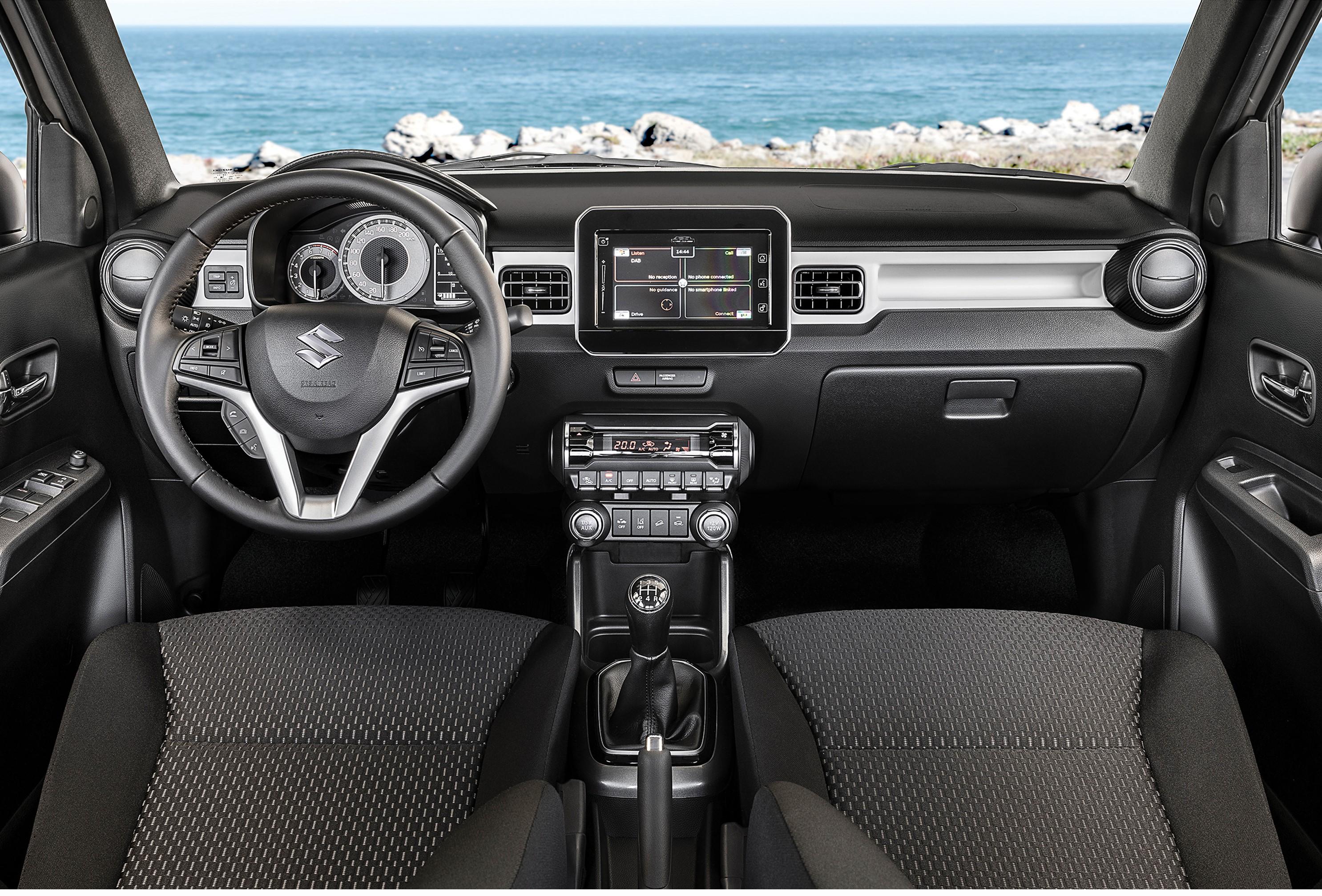 2020 Suzuki Ignis interior dashboard