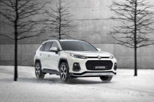 Suzuki across off road abilities