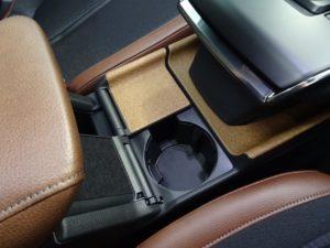 Mazda MX-30 Interior Materials showing Cork in the centre console